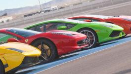 Exotics Racing at the Las Vegas Motor Speedway.