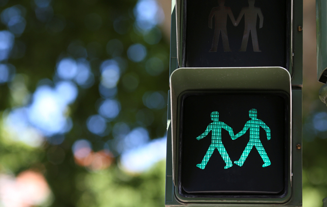 Madrid kicks off WorldPride festival with LGBT traffic lights