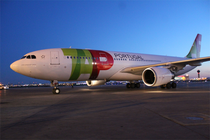 TAP Portugal at Toronto's Pearson Airport
