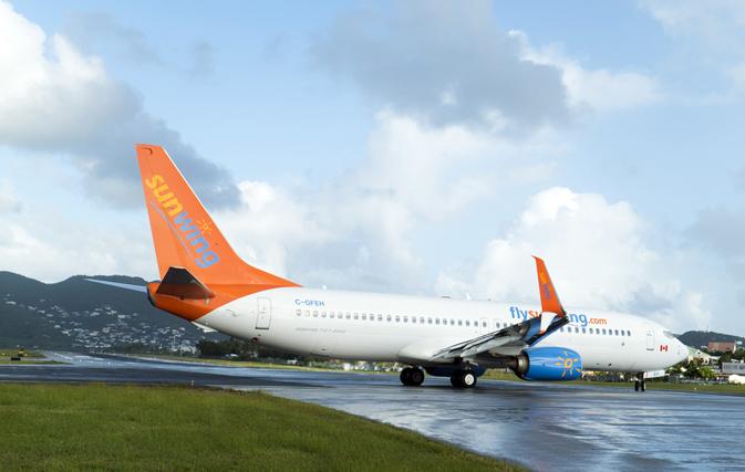 Sunwing cancels St. Maarten flights through until April 30, 2018, adds MoBay, Cancun capacity