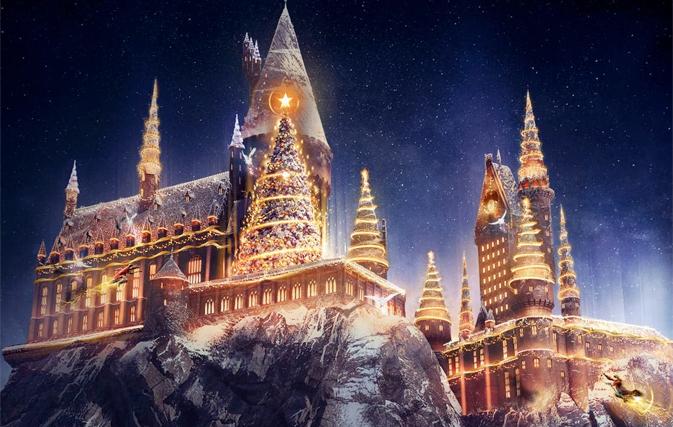 Universal Orlando Celebrating Christmas With Harry Potter