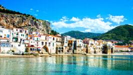 Beautiful coast of Cefalu, Palermo