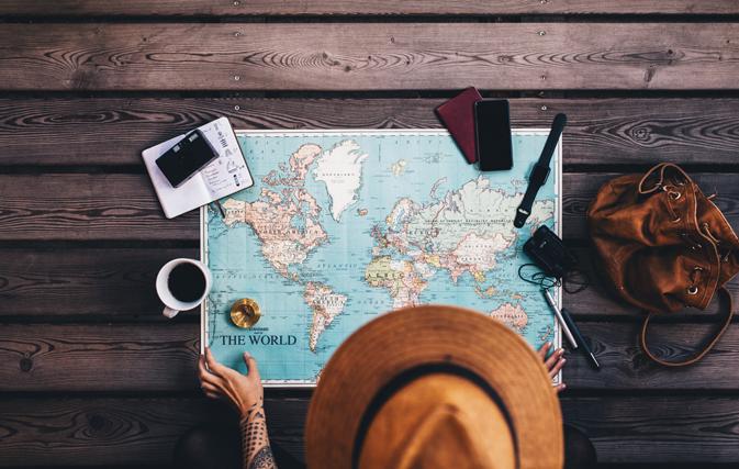这张地图告诉你每个国家的顶级旅游景点