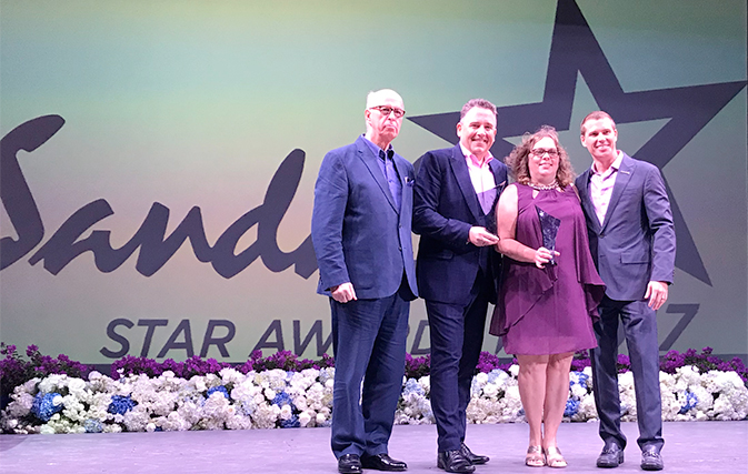 TTAND's Flemming Friisdahl wins Sandals CEO Award of Excellence