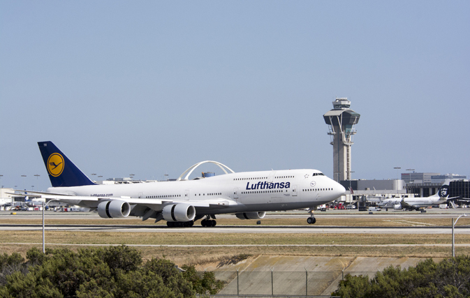 LOS ANGELES — Lufthansa's one-step biometric boarding is now available at LAX and the airline says it will introduce biometric boarding at more airports across the country.