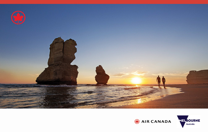 Win two tickets on Air Canada's Boeing 787 Dreamliner to Melbourne, Australia