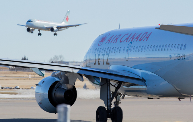 Air Canada celebrates two new routes: Montreal-Bordeaux & Calgary-Terrace