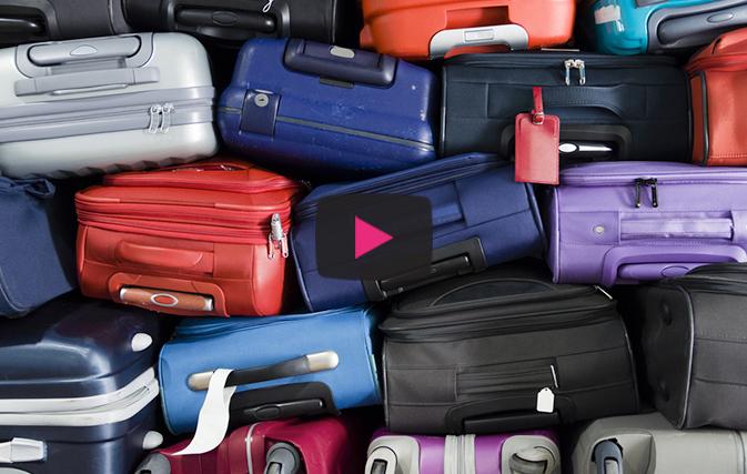 您将不会相信日本如何在机场对待您的行李