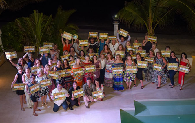 Transat Distribution hosts top agents on dream vacation in Cancun