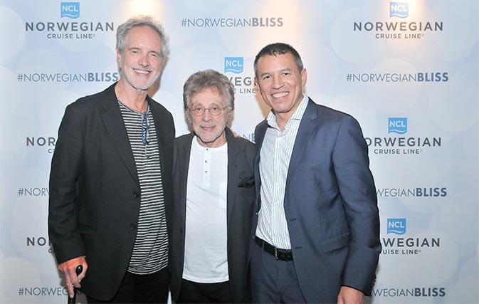 Norwegian Bliss makes a big splash on inaugural tour