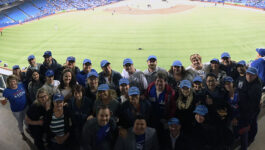 WestJet's Travel Agent Advisory Board meets for business and baseball
