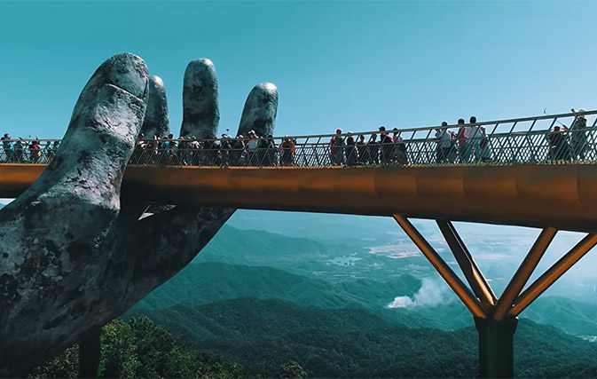 Is this the world's coolest bridge? - Travelweek