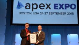 Air Canada CEO honoured at APEX EXPO