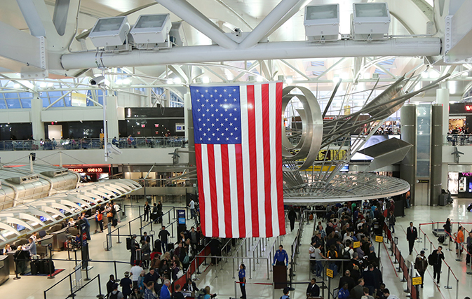 Air travellers start to feel effects of government shutdown