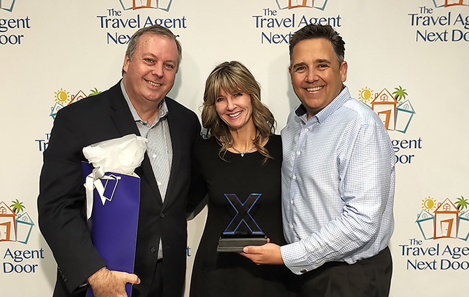 The Travel Agent Next Door takes home Celebrity's Rising Star award