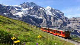 Register now to win a Swiss fam with Rail Europe