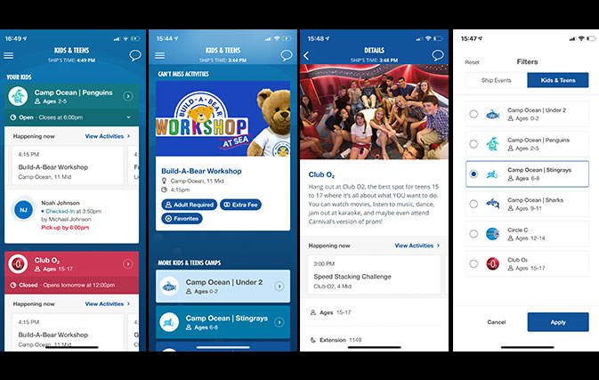 Carnival-Cruise-Line-enhances-HUB-app-for-families-and-youth
