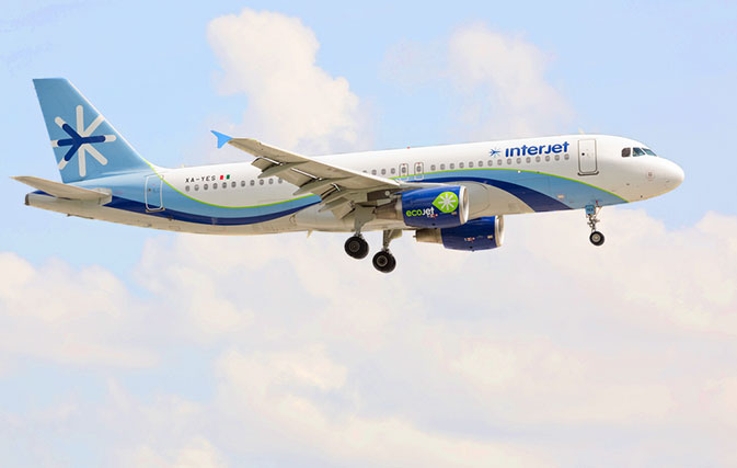 Interjet records record growth on routes between Canada and Mexico