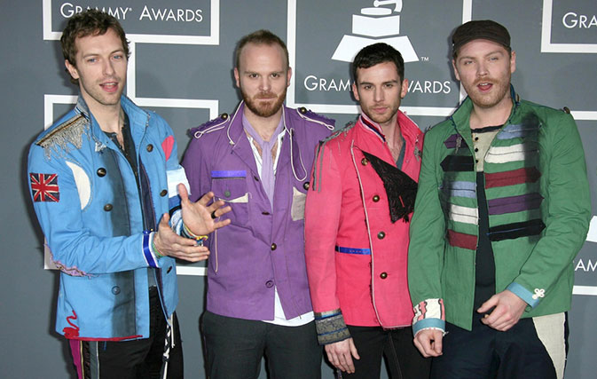 Coldplay chose this country to launch its first new album in four years