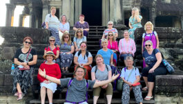 TPI agents join G Adventures for STEP fam to Cambodia