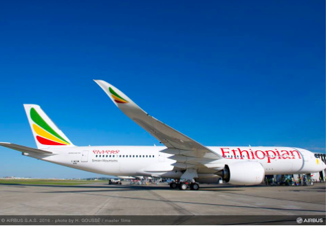 Ethiopian Airlines' first A350 coming to Toronto