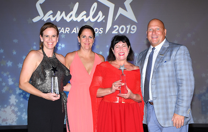 Canadians Shine At Sandals Star Awards With Complete List Of Winners Pics Travelweek
