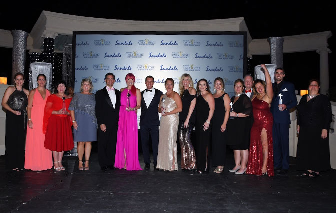 Sandals Star Awards Gala A Special Night For Home Based Agents Travelweek
