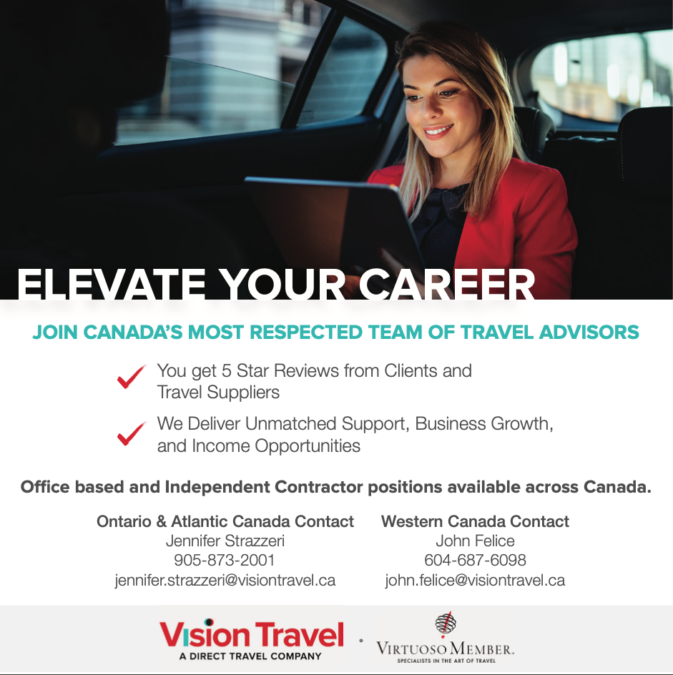 Vision Travel Marketplace Job 01.13
