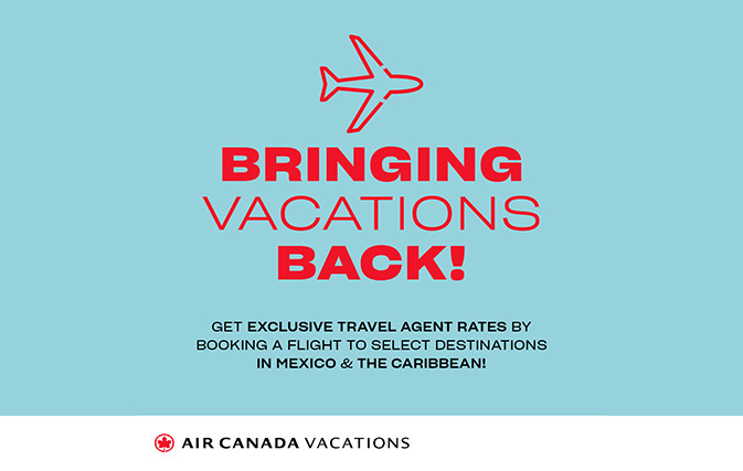 ACV launches agent rates, DIY fam trips to Mexico and the Caribbean