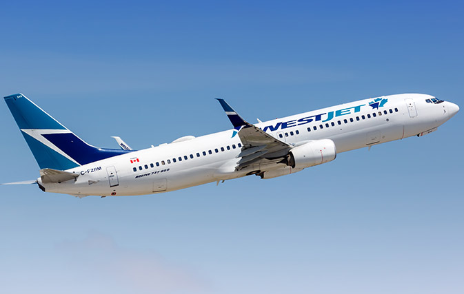 WestJet's 48 destinations starting Oct. 4 include Mexico, Jamaica, U.S. and UK