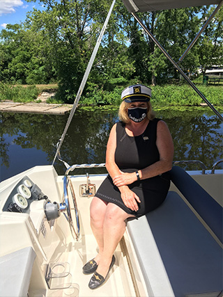 Le-Boat-welcomes-aboard-Ontario-Minister-of-Heritage-3