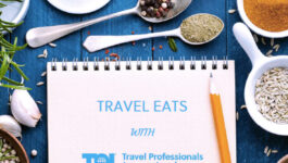 Can Zeina Gedeon pick her 3 fave recipes from Travel Eats with TPI?
