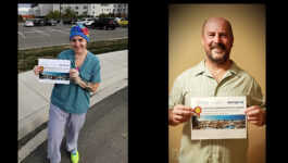 800+ entries, 2 winners in TTAND's Essential Workers contest