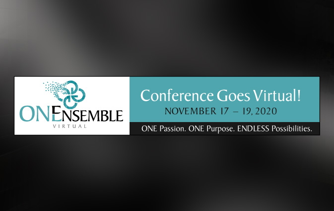 Registration opens for ONEnsemble Virtual conference