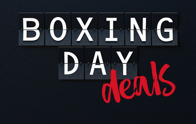 Boxing Day deals from ACV and Sunwing