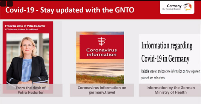 Keeping trade up to date - and dreaming - with Germany & GNTO