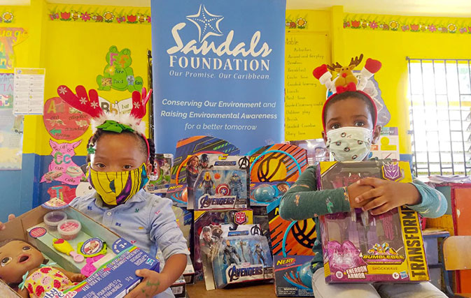 Sandals Foundation's Annual Toy Drive to benefit 10,000 kids this year
