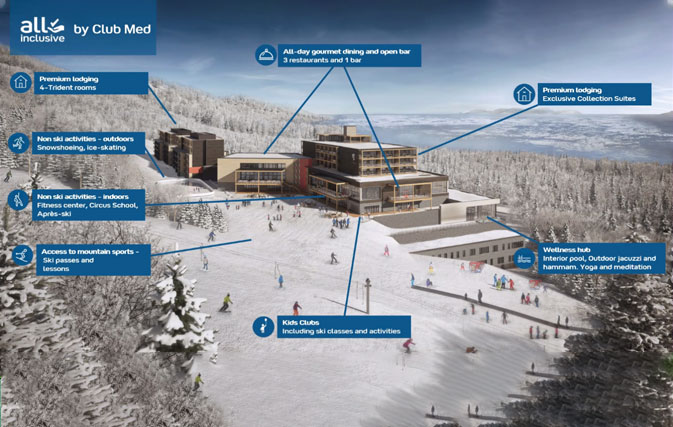 """""""We are thrilled to open bookings for Club Med Quebec Charlevoix"""": Brouhard"""