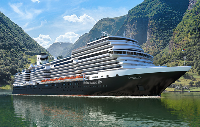Holland America opens bookings for Europe 2022