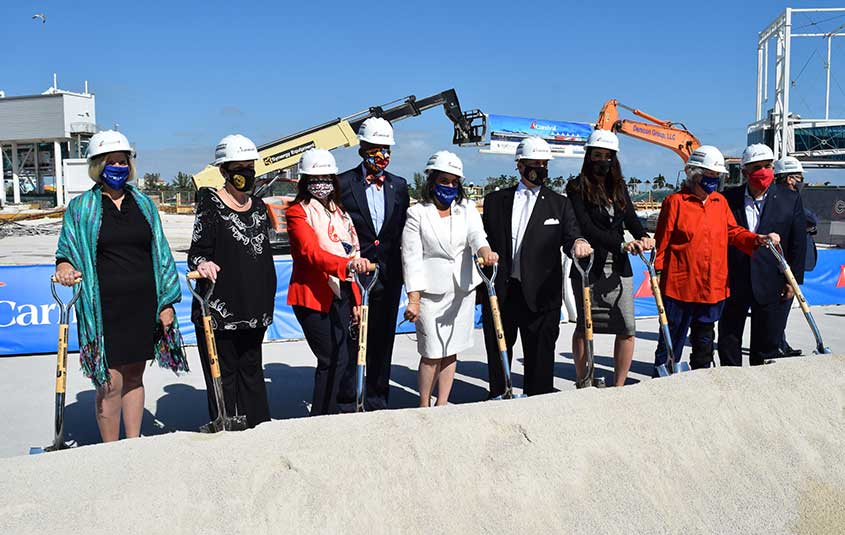 PortMiami breaks ground on Terminal F, future home of Carnival Celebration