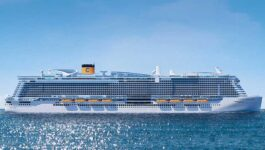 Costa to restart cruises with the Smeralda in March