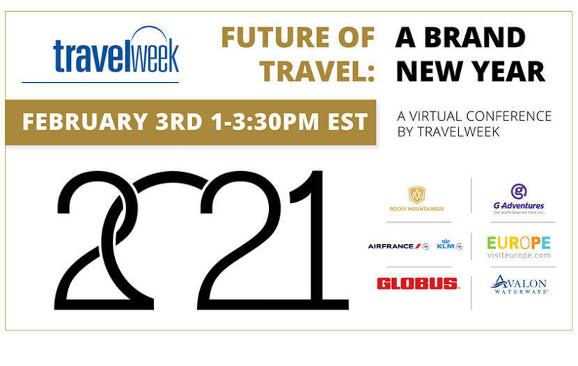 Tune in to 'The Future of Travel: A Brand New Year,' taking place today at 1 p.m. EST