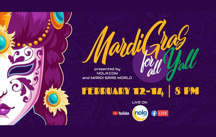 Mardi Gras in Louisiana kicks off today with virtual celebration