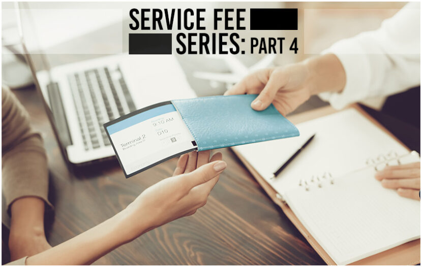 """All other professionals charge for their service, why shouldn't you?"": The Service Fee Series"