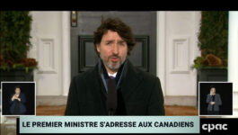"""Travel measures will remain in place """"for as long as needed"""", says Trudeau"""