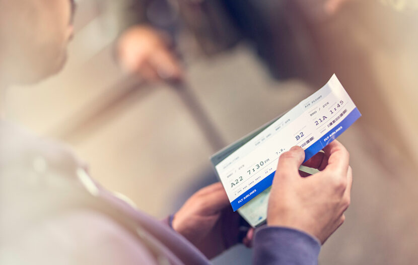 What happens to a client's return flight if they test positive for COVID and can't fly home?