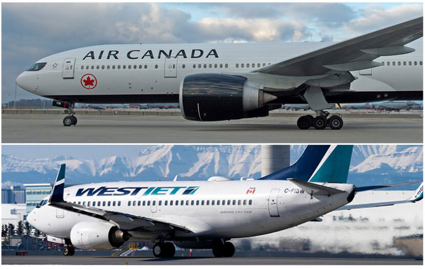 Air Canada, WestJet restoring some routes and that's reason for optimism