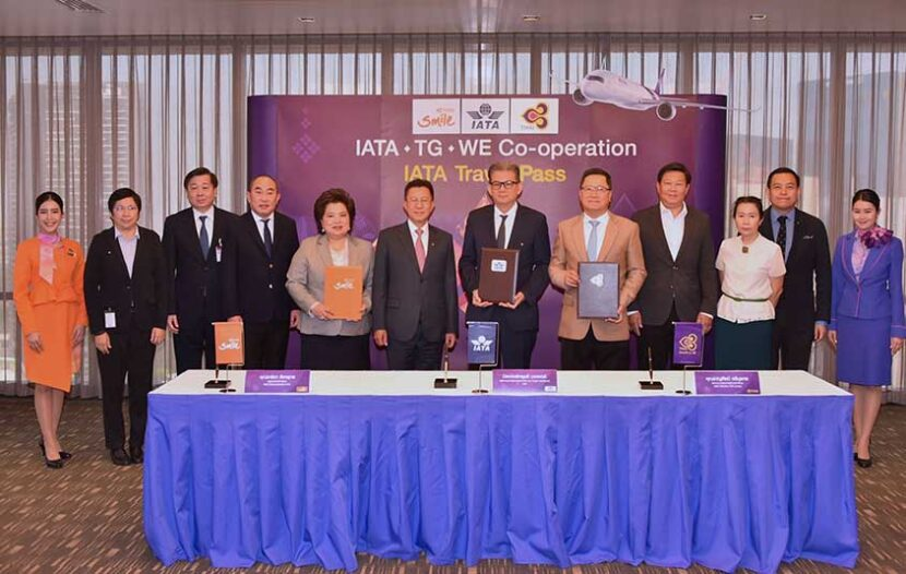 SIA launches IATA Travel Pass; THAI Airways onboard for the pass too