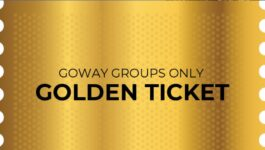 Goway announces Golden Ticket winners