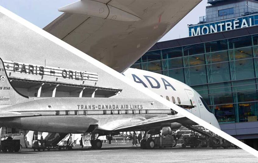 Air Canada marks 70th anniversary of its Montreal - Paris route